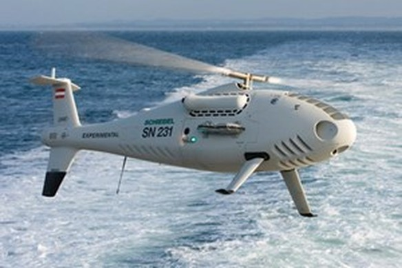 Camcopter S-100. (Nguồn: unmanned.co.uk)